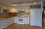 833 SW 13th St, #1, Newport, OR 97365 - Kitchen w/newer cabinets & appliances