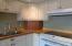 833 SW 13th St, #1, Newport, OR 97365 - Kitchen w/appliance garage