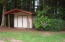 960 NW Terrace St, Seal Rock, OR 97376 - back yard shed