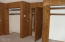 3048 NE East Line Rd, Yachats, OR 97498 - bedroom 1 closets