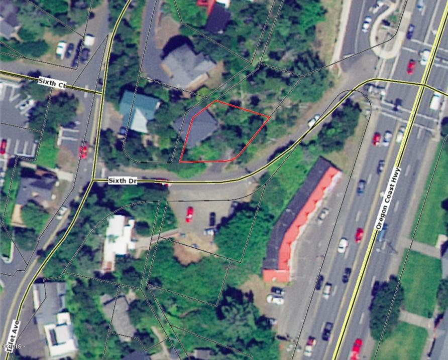 1215 NW 6th St, Lincoln City, OR 97367 - Aerial Map