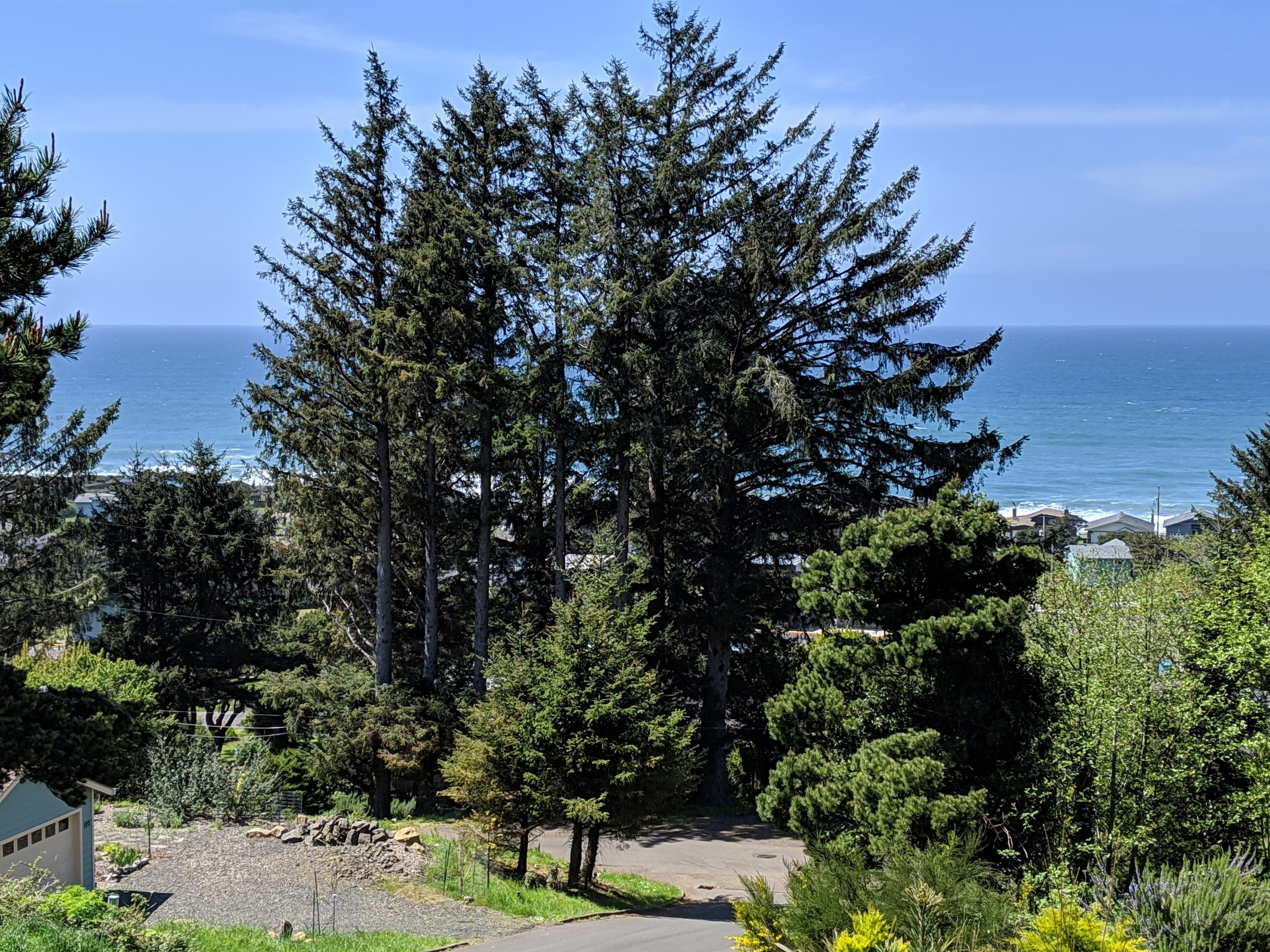 LOT 3 10th St., Yachats, OR 97498 - Ocean View From Lot