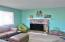 1909 NW Marineview Dr, Waldport, OR 97394 - Fireplace