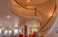 2535 NW Pacific St, Newport, OR 97365 - Mid level of staircase