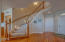 2535 NW Pacific St, Newport, OR 97365 - Bottom of beautiful staircase