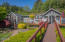 140 E Trafzer Ln, Tidewater, OR 97390 - dock looking back to home
