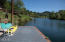 140 E Trafzer Ln, Tidewater, OR 97390 - dock viewing east