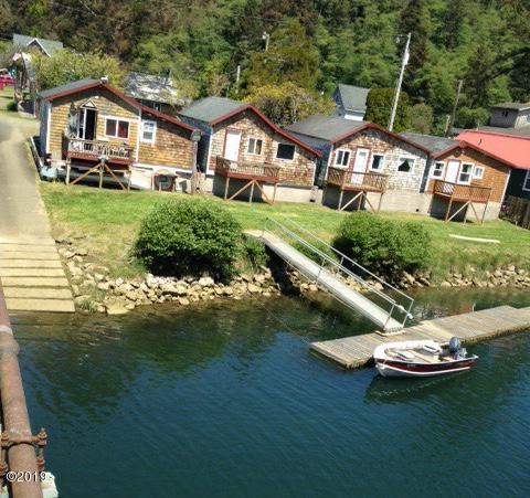 33555 Ferry St, Cloverdale, OR 97112 - 4 Cabins and Dock