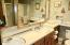 1815 NW Harbor Ave., 103, Lincoln City, OR 97367 - Bathroom - Double Sink