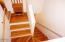 495 NE Golf Course Drive, Newport, OR 97365 - Stairs to Lower Level