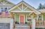 4358 NE East Devils Lake Rd, Otis, OR 97368 - Covered Front Porch