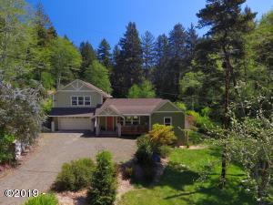 4358 NE East Devils Lake Rd, Otis, OR 97368 - Front