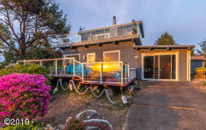 5623 SW Neal Ave., Waldport, OR 97394 - At Dusk