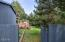 5623 SW Neal Ave., Waldport, OR 97394 - Gate to Yard