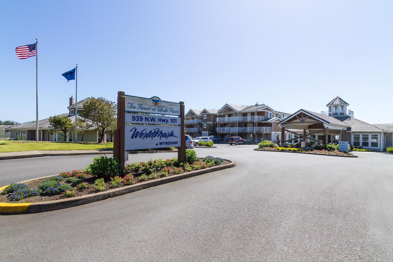 939 N Hwy 101, Unit 601 Week H, Depoe Bay, OR 97341 - Front entry sign at resort
