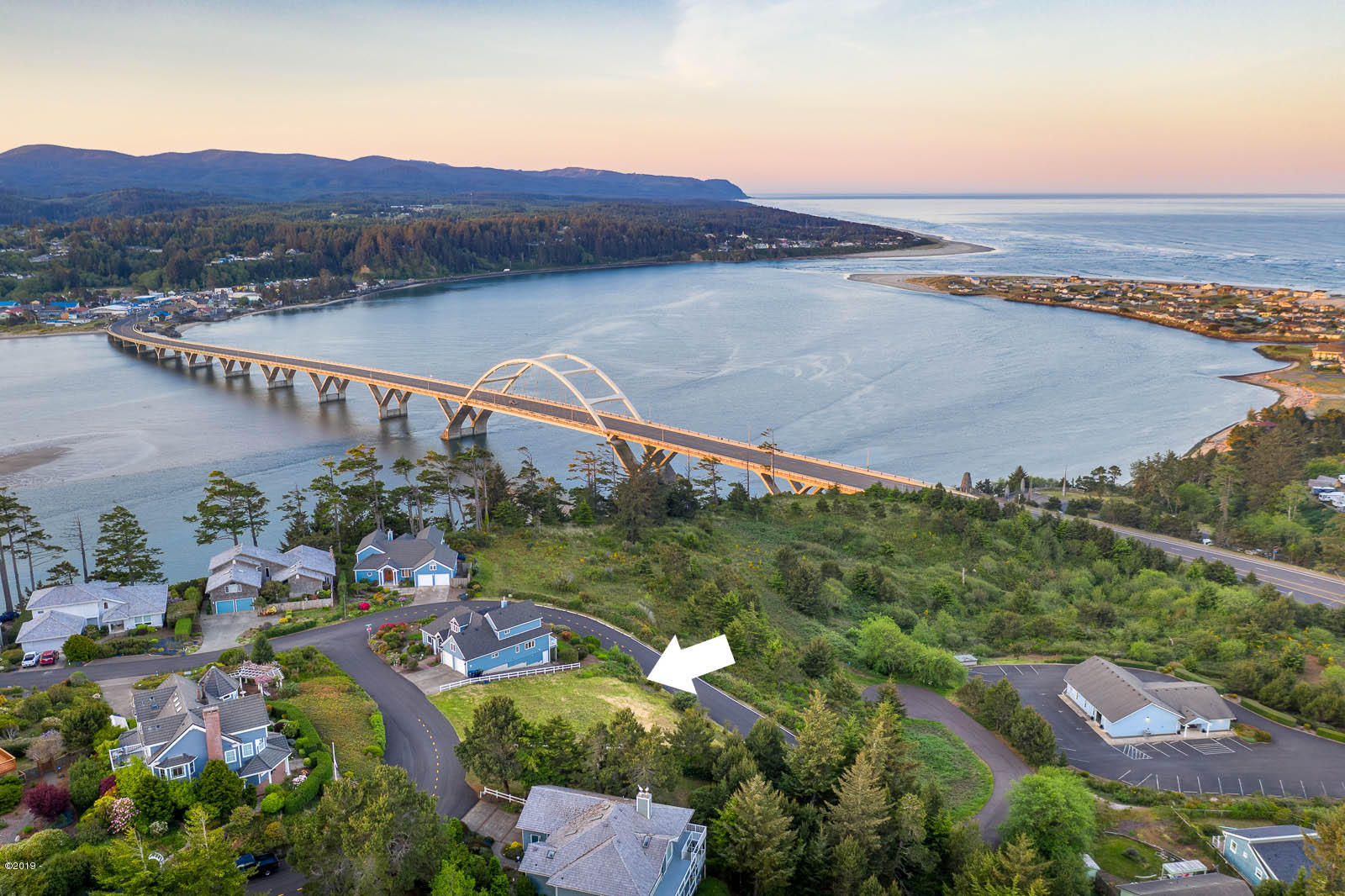 980 NW Highland Circle, Waldport, OR 97394 - Aerial photography