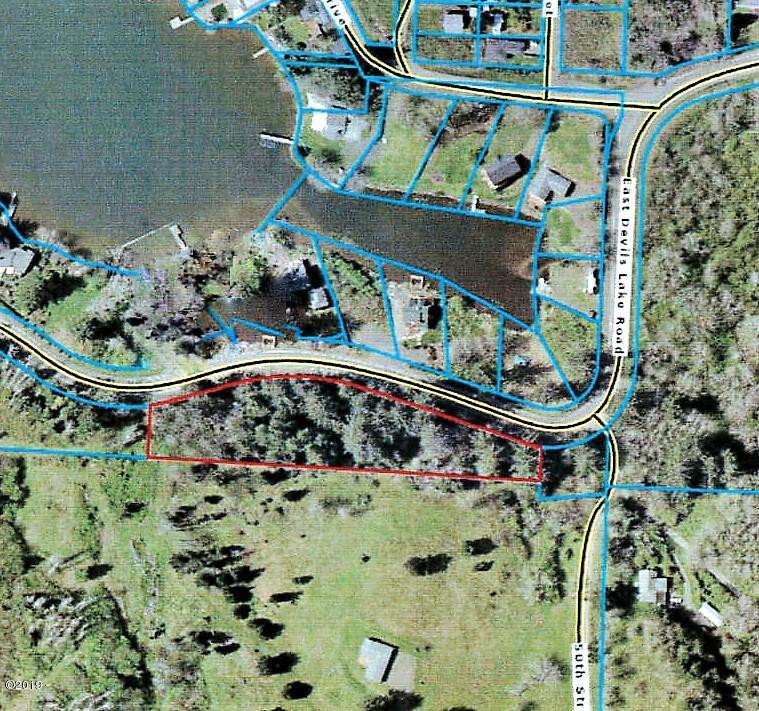 4763 NE East Devils Lake Rd, Otis, OR 97368 - 1.6 acre lake view homesite
