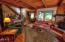 1435 NE Wagon Rd, Toledo, OR 97391 - Living Room