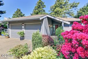 446 Summitview Ln., Gleneden Beach, OR 97388 - Front of Home