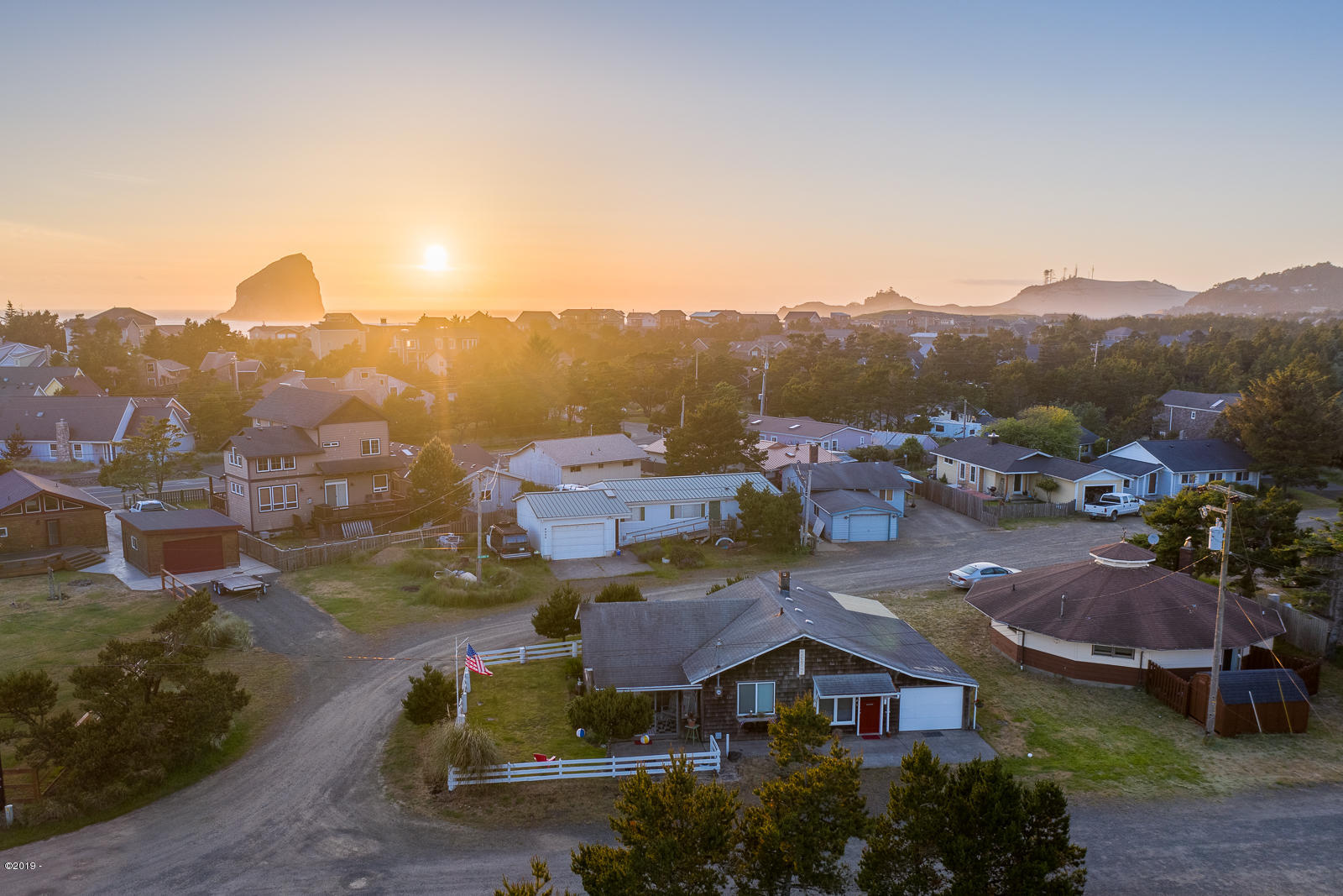 34590 Ray Ave, Pacific City, OR 97135 - Aerial