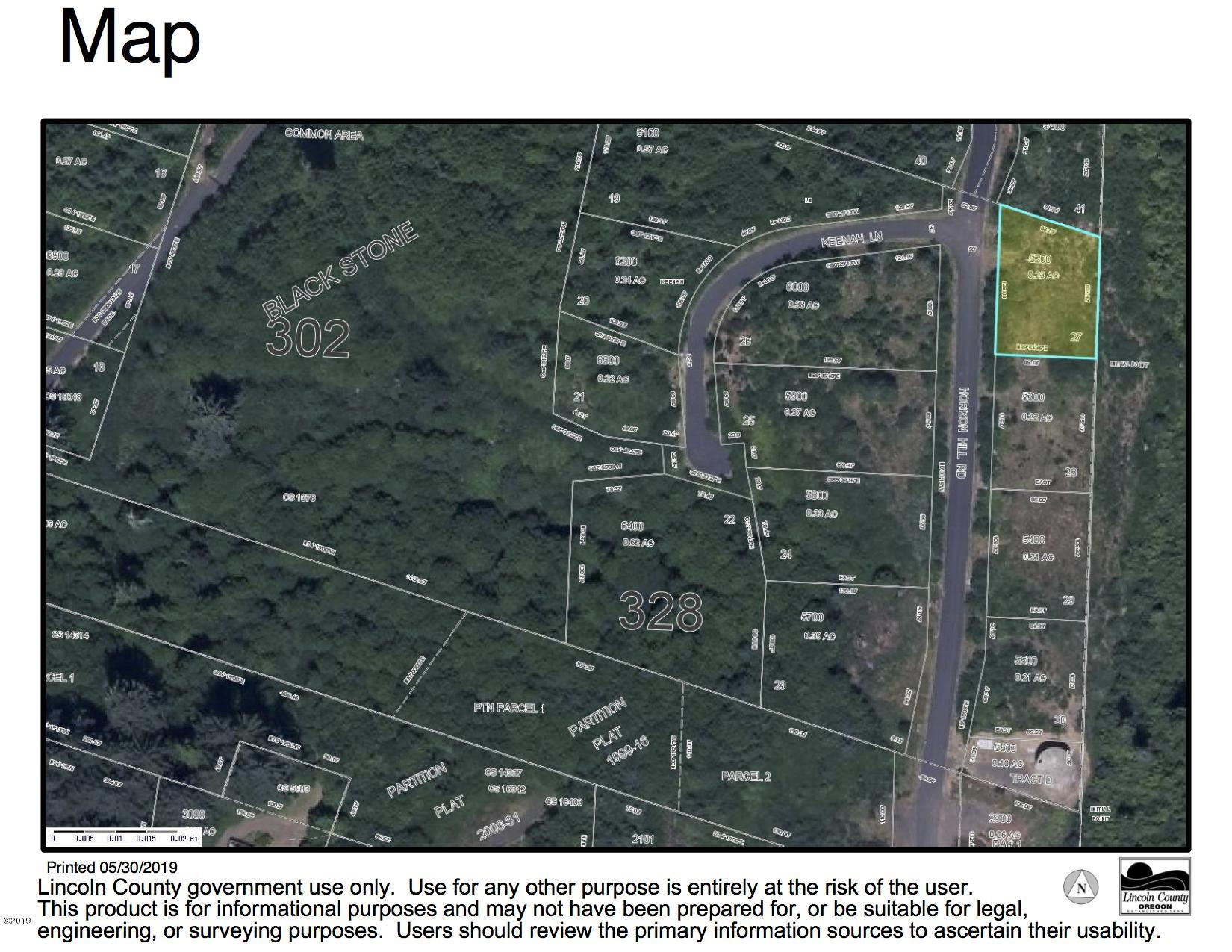 LOT 27 Horizon Hill, Yachats, OR 97498 - Aerial Map