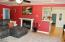 1070 NW Sunset Dr, Toledo, OR 97391 - Fireplace