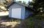 1805 NW Sandpiper Drive, Waldport, OR 97394 - Garage Exterior