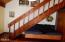 1805 NW Sandpiper Drive, Waldport, OR 97394 - Stairs to Mezzanine Bedrooms