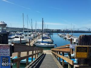 1000 SW Bay Blvd.  M-222, Newport, OR 97365 - Dock to moorage
