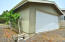 800 NW Grouse St, Seal Rock, OR 97376 - Garage Rear
