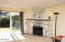 2453 NW Jetty Ave, Lincoln City, OR 97367 - Fireplace and Slider to patio