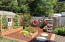 225 SW South Point Street, Depoe Bay, OR 97341 - Garden Area & Shed