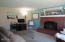 225 SW South Point Street, Depoe Bay, OR 97341 - Gas Fireplace at Living Room