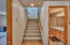 6461 NE Neptune Dr, Lincoln City, OR 97367 - Stairs to Lower Level