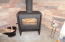 23 N Bay Ridge, Gleneden Beach, OR 97388 - Wood Stove at Living Room