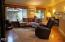2810 NE Harney St, Newport, OR 97365 - Living Room w/woodstove