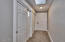 2823 NE East Devils Lake Rd, Otis, OR 97368 - Hallway Storage