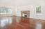 4330 SW Coast Ave, Lincoln City, OR 97367 - Living Room - Gleaming Hardwood Floor