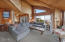 4425 SW Beach Ave, Lincoln City, OR 97367 - Living Room Overview