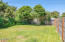 1164 NW Park View St, Seal Rock, OR 97376 - North side of yard