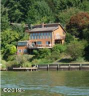 2909 NE East Devils Lake Rd, Otis, OR 97368 - as seen from the lake