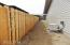 2810 NW Bayshore Loop, Waldport, OR 97394 - Fence is up