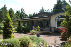 355 SW Newton Dr, Waldport, OR 97394 - House front