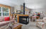 6125 Beachcomber Ln, Pacific City, OR 97135 - 3 sided fireplace