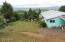 990 Skyline Drive, Tillamook, OR 97141 - Side yard looking west.