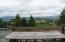 990 Skyline Drive, Tillamook, OR 97141 - Deck looking west.