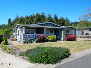 135 SE Whalesong Drive, Depoe Bay, OR 97341 - Front Elevation