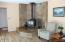 425 NE Edgecliff Dive, Waldport, OR 97394 - Wood stove