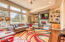 720 SE Winchell Dr, Depoe Bay, OR 97341 - Living room with wall to ceiling windows