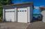 625 NE Buker, Waldport, OR 97394 - RV garage.